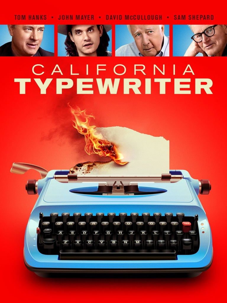 California Typewriter Poster