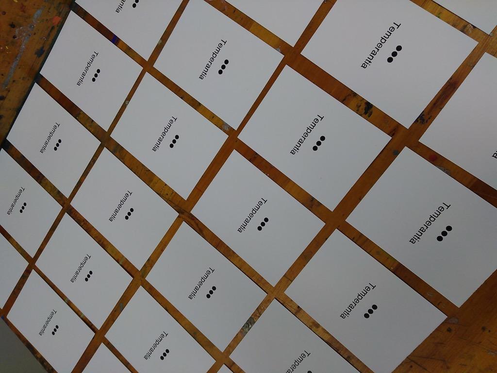 Many Temperantia, printed