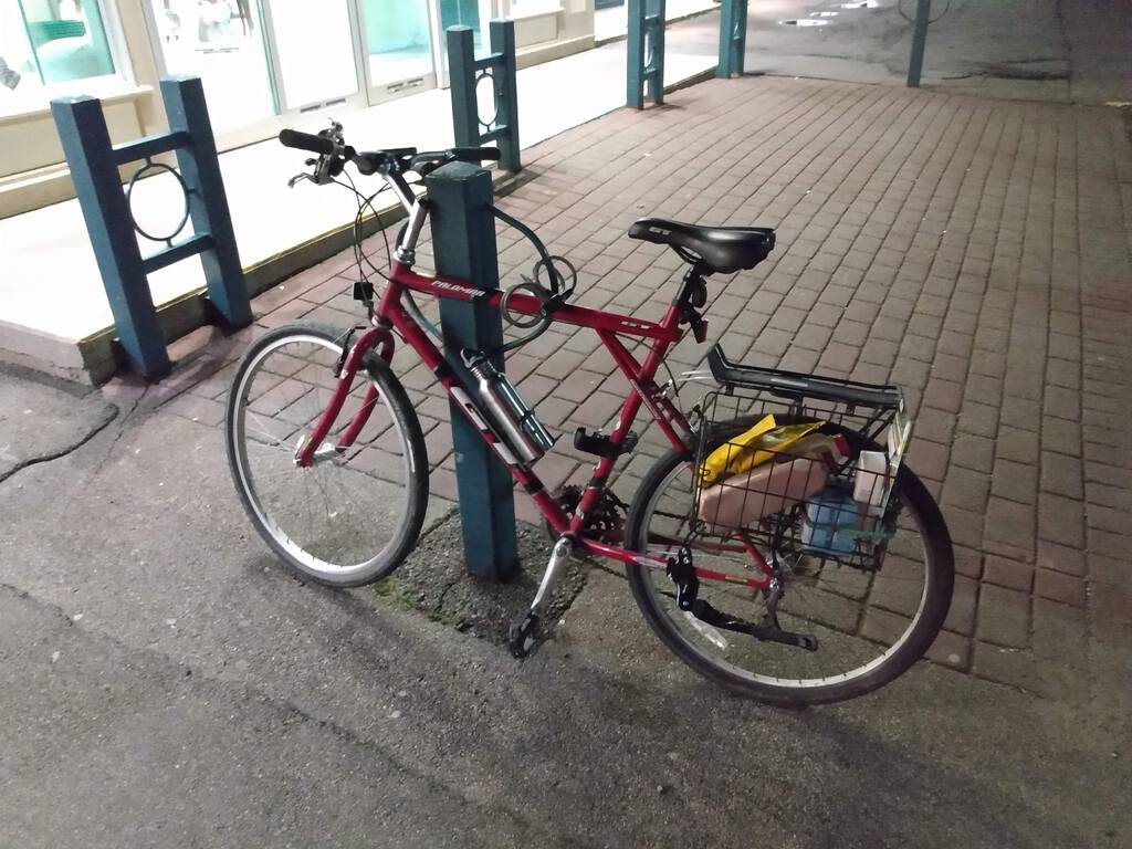 Murphy's Parkdale Pharmacy bicycle rack