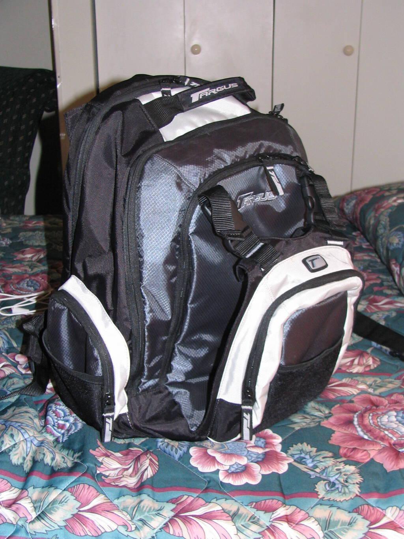 My Targus laptop bag.