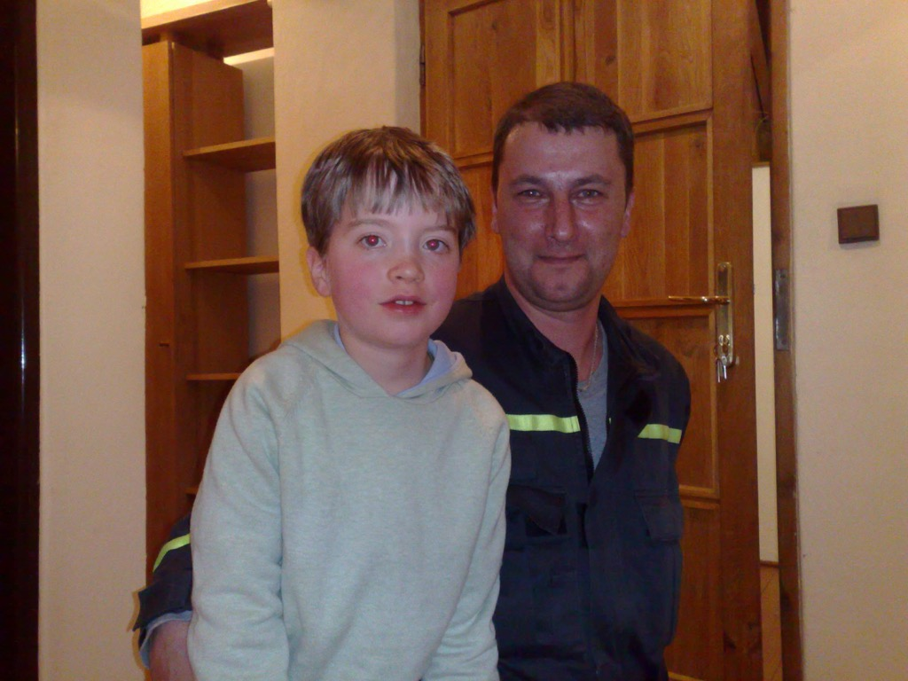 Oliver and the Slovakian Fireman
