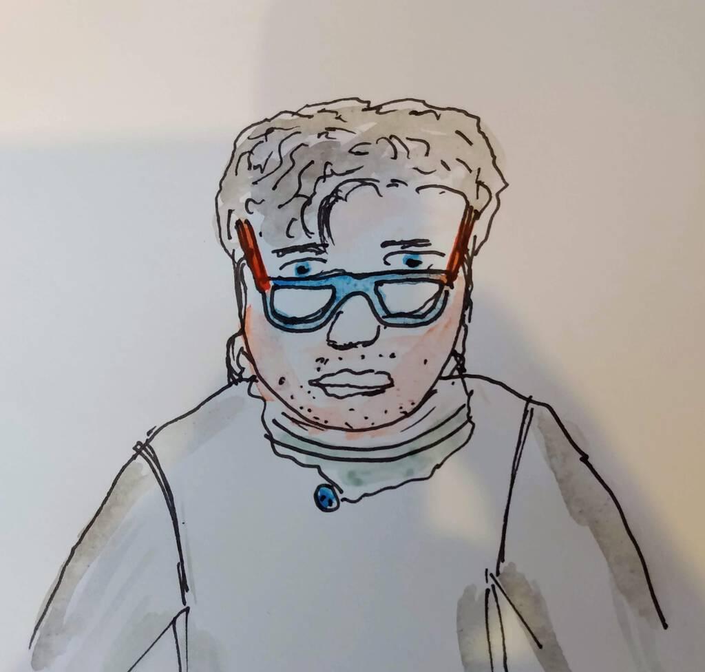 Sketch of Oliver