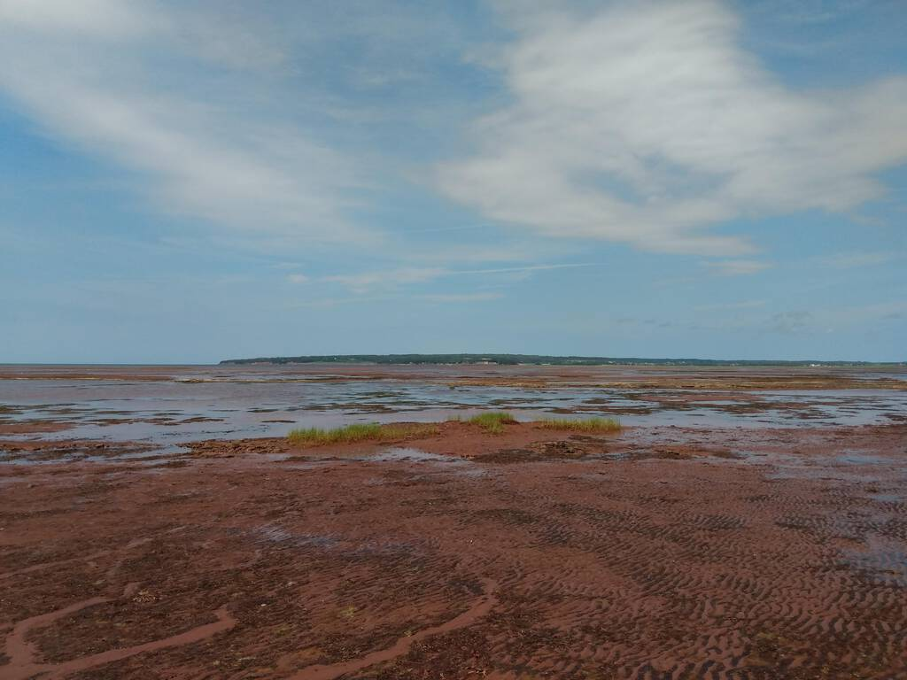 The view of PEI from St. Peters Island