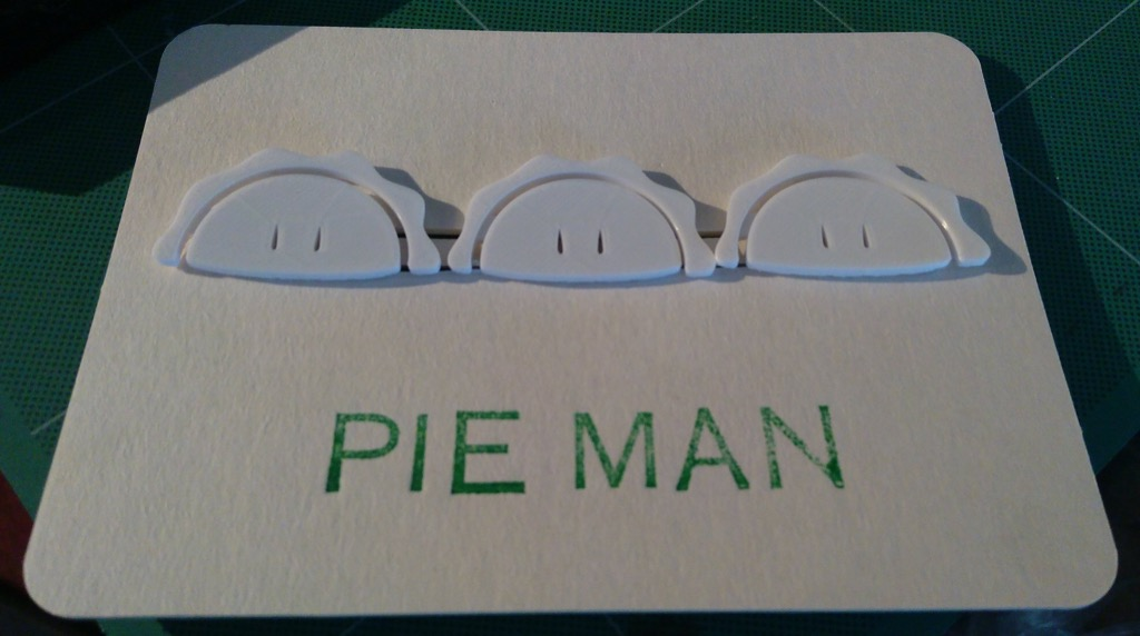 Pie Man Packaging
