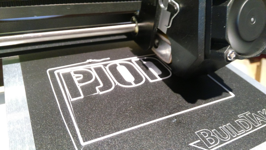 PJODD printing on 3D printer