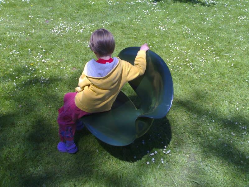 Olivia on Round Chair