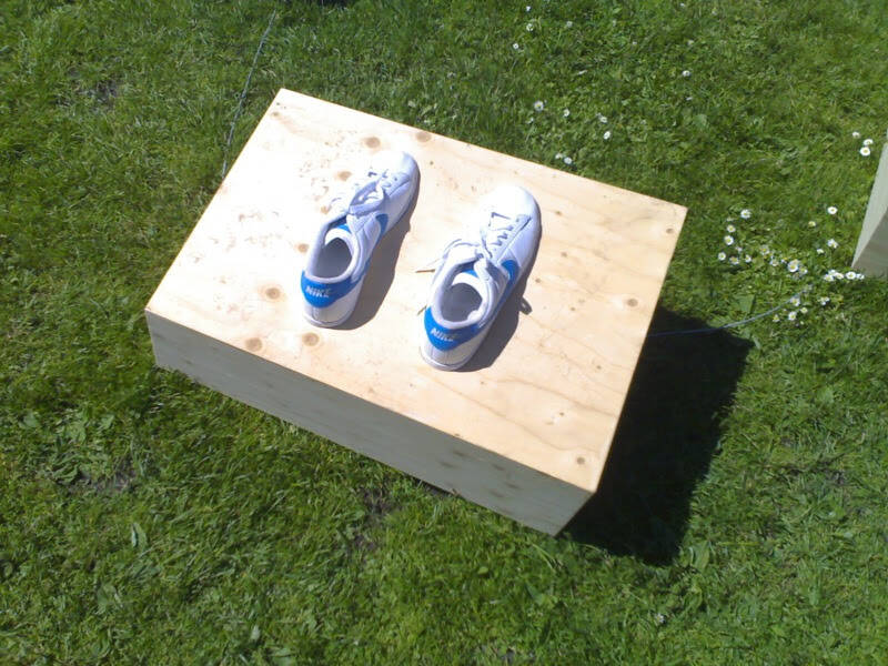 Shoes on Box