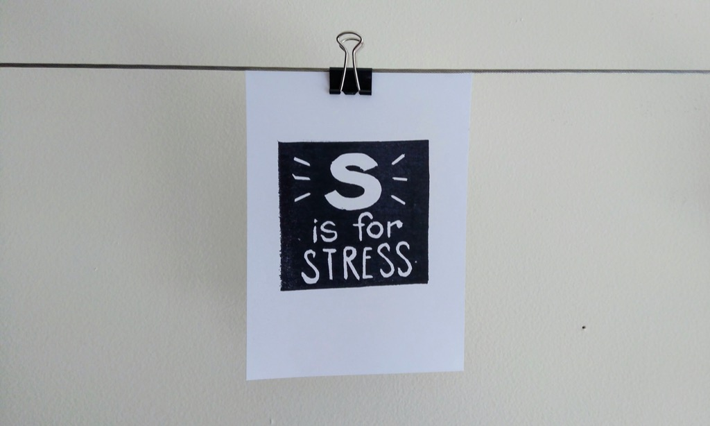 S is for Stress (by Jenni Zelin)