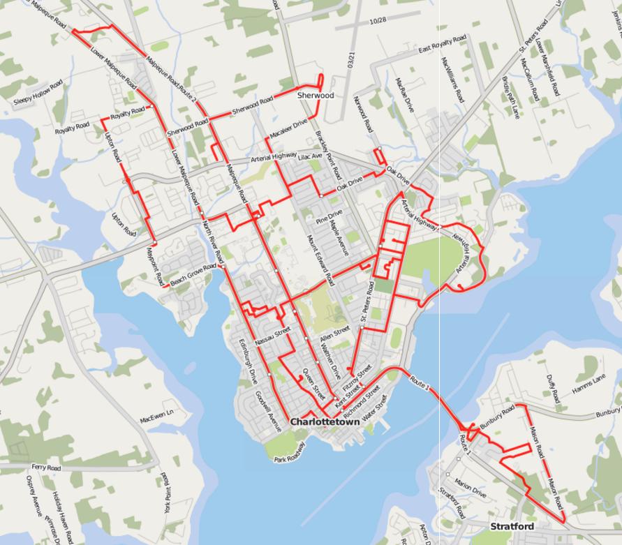 T3 Transit in OpenStreetMap