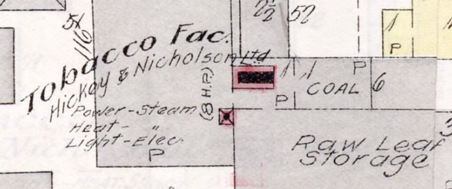 Detail from Charlottetown Fire Insurance Map.