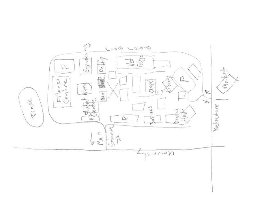 My Campus Map