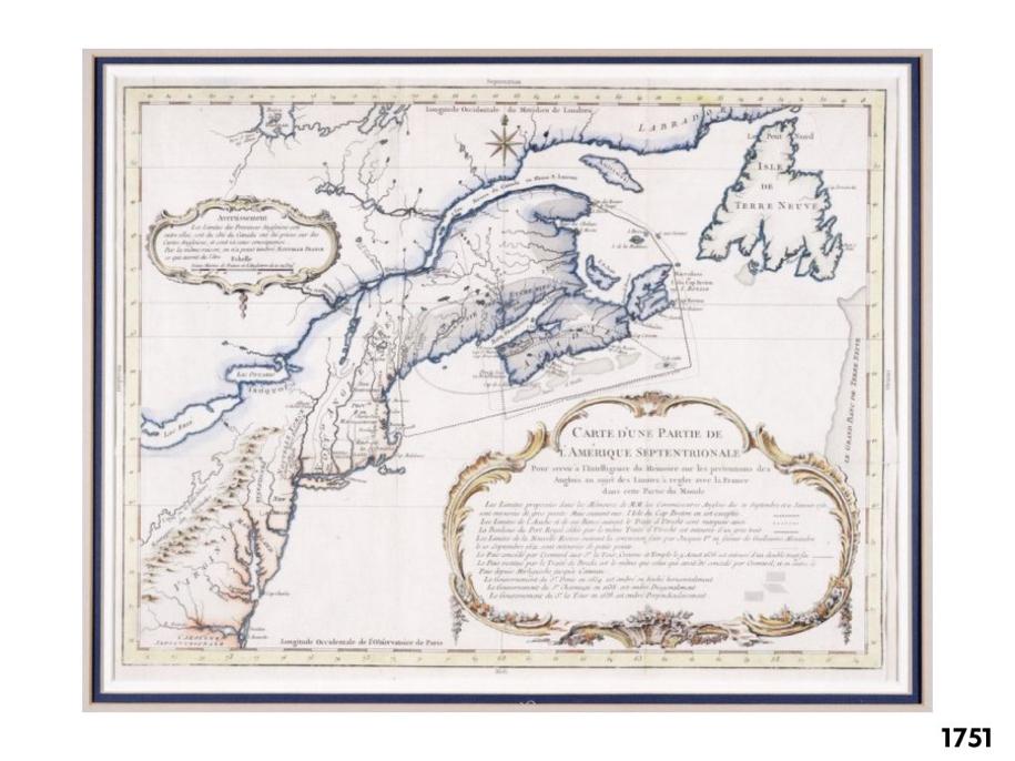 PEI Map 1751