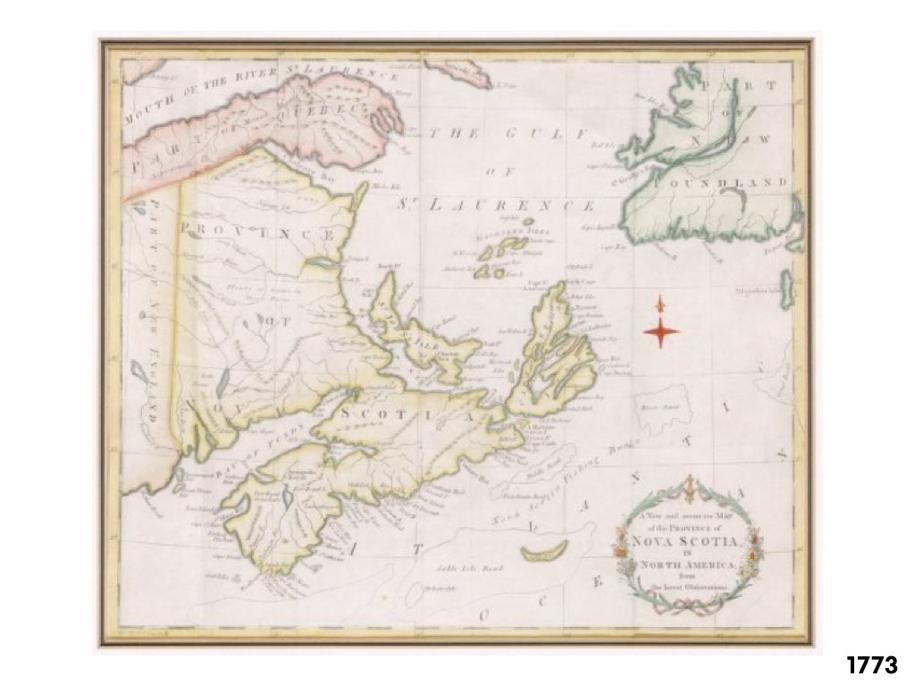 PEI Map 1773
