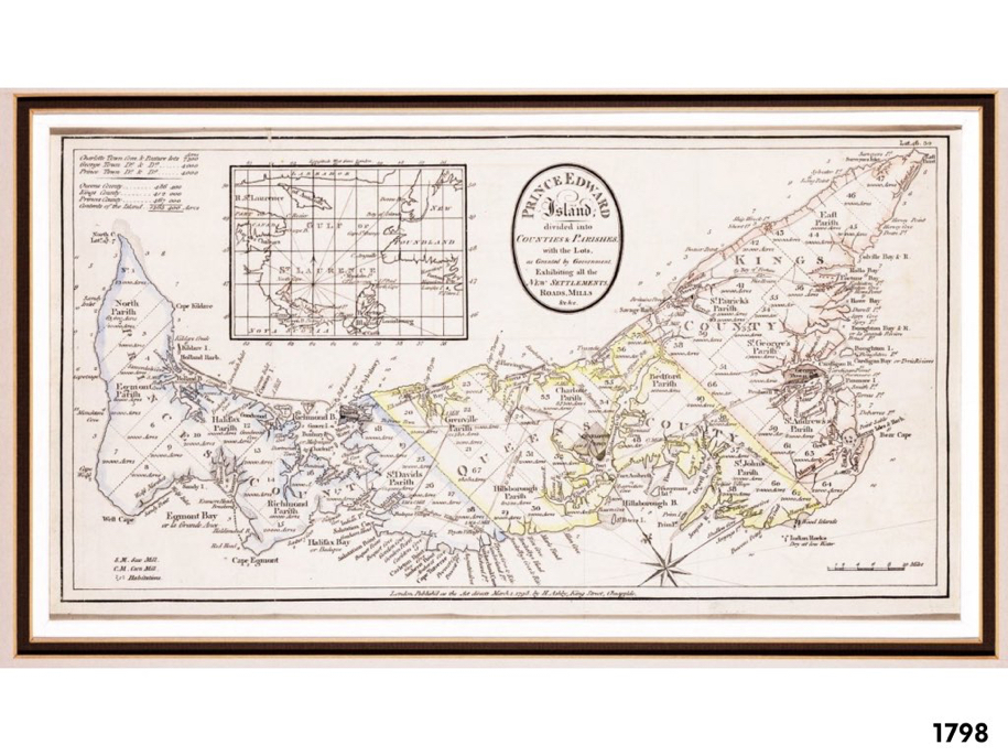 PEI Map 1798