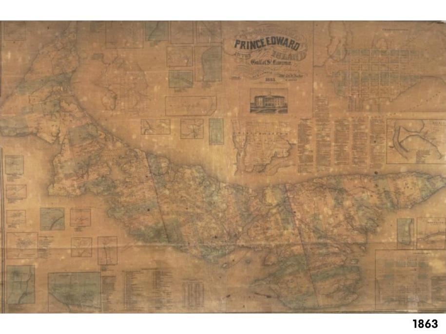 PEI Map 1863