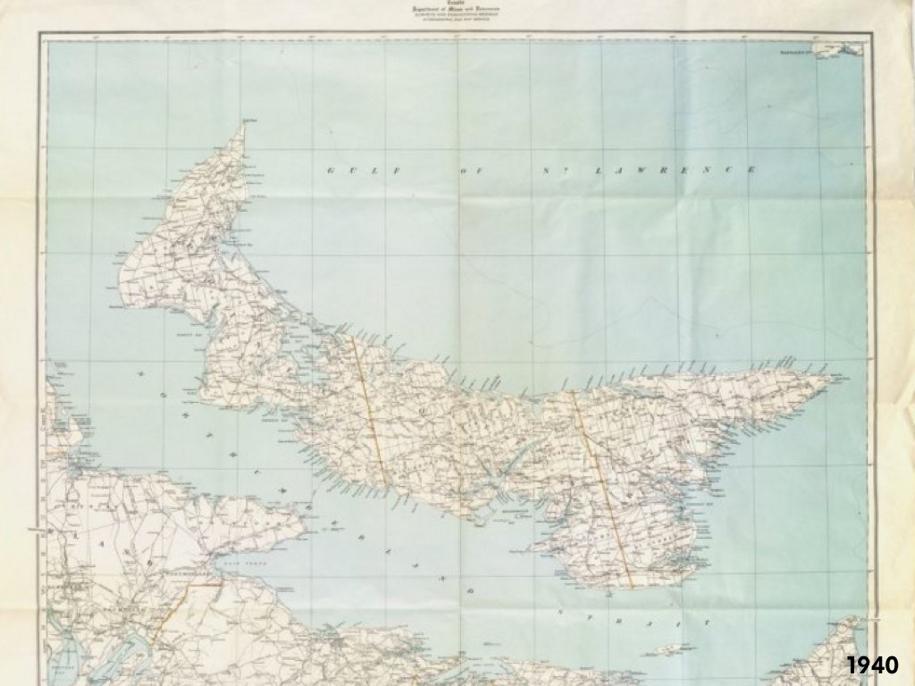PEI Map 1940