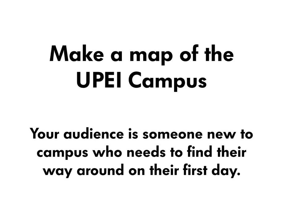Make a Map!