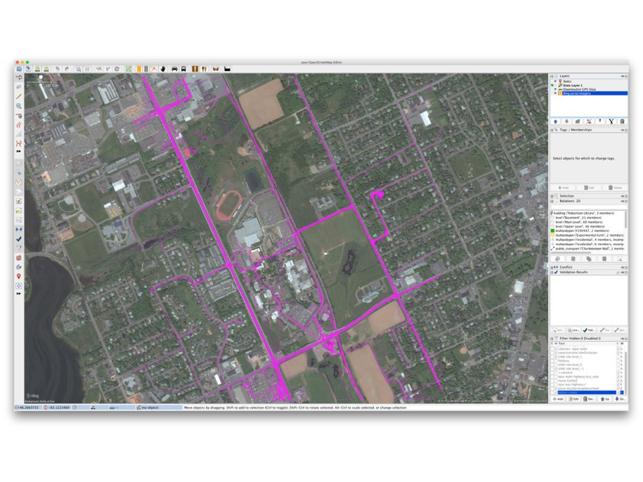 Traces and Bing Map