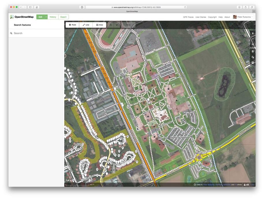 Editing OpenStreetMap