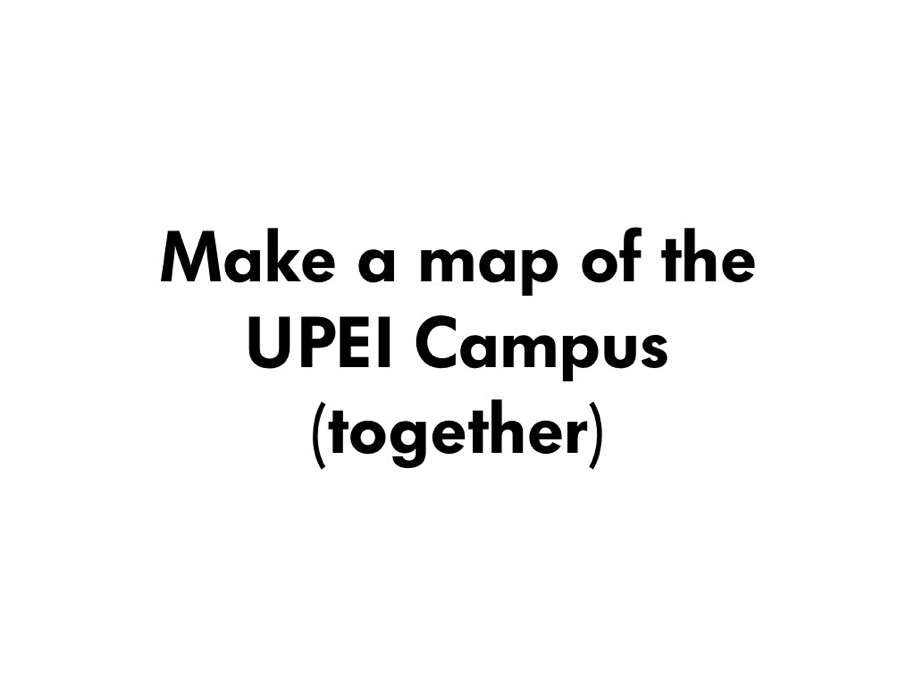 Make a Map Together!