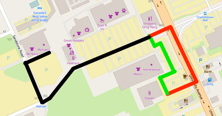 Map Showing Transformation