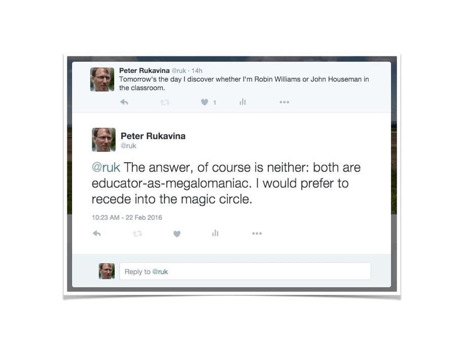 Megalomaniacs vs. Magic Circle