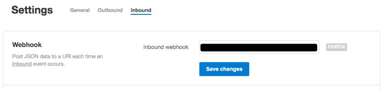 Postmark Inbound Webhook