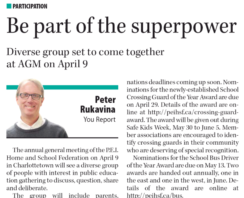 """""""Be part of the superpower"""" the The Guardian, April 7, 2016"""