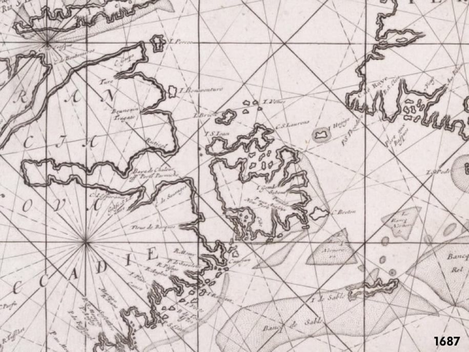 PEI Map 1687