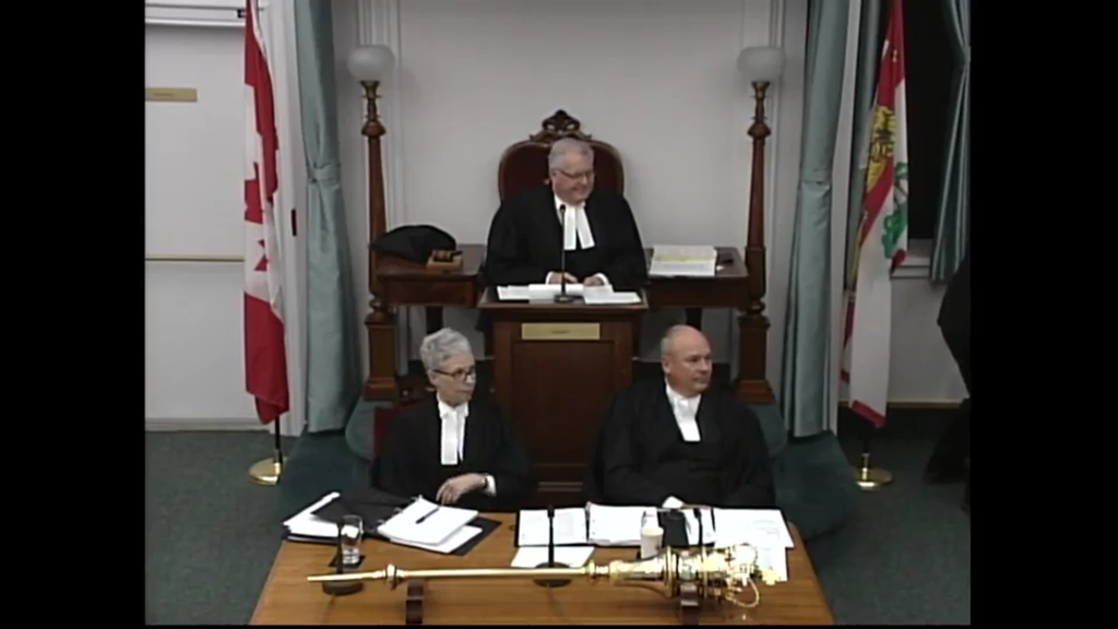 The Legislative Assembly livestream