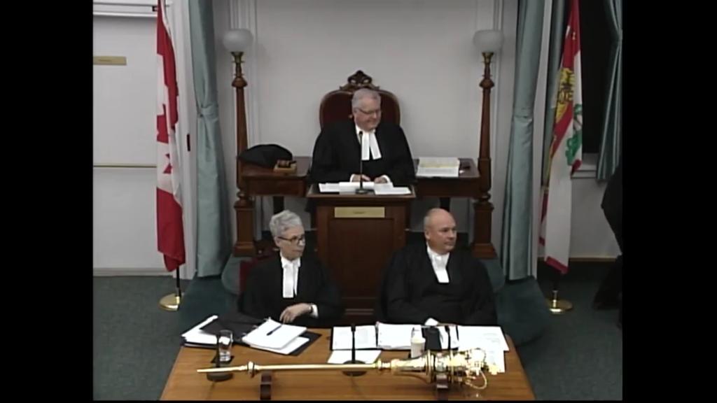 The Legislative Assembly livestream