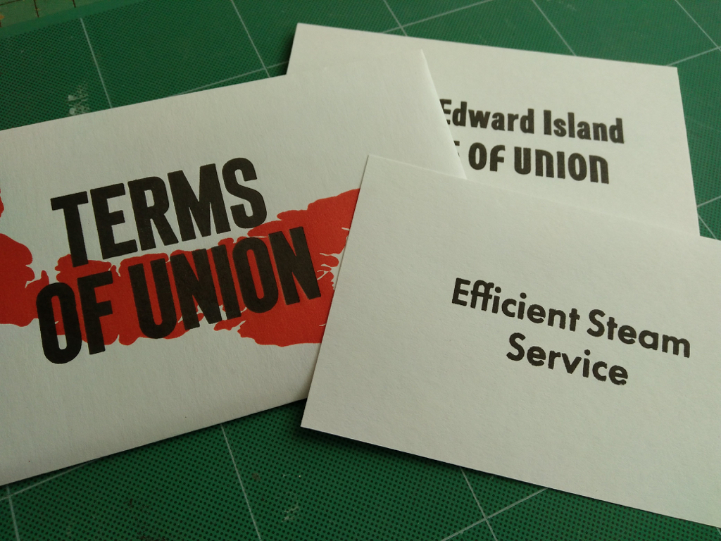 Terms of Union