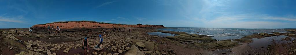 Panoramic view of St. Peters Island, PEI