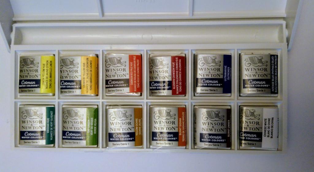 Winsor & Newton Sketchers' Pocket Box