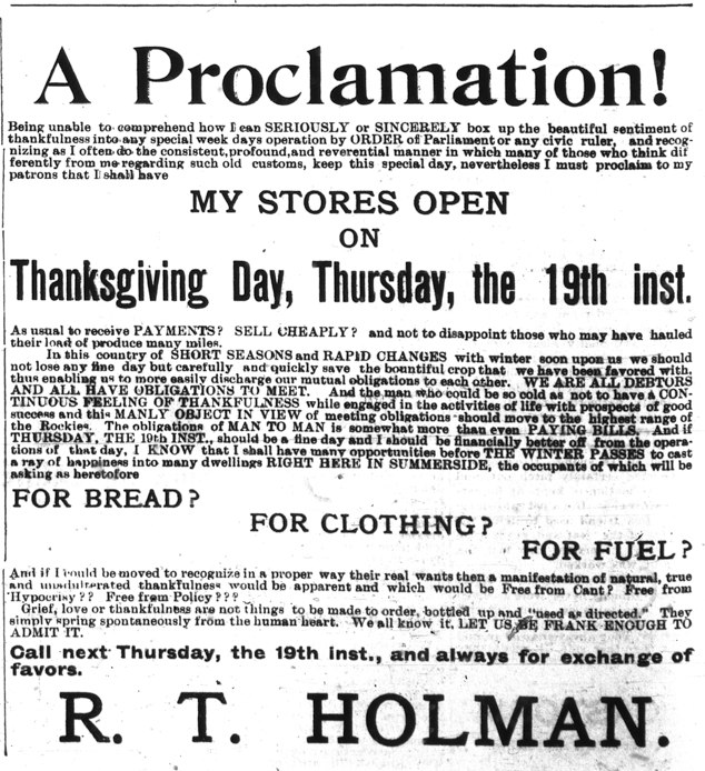 Summerside Journal, Oct. 18, 1899