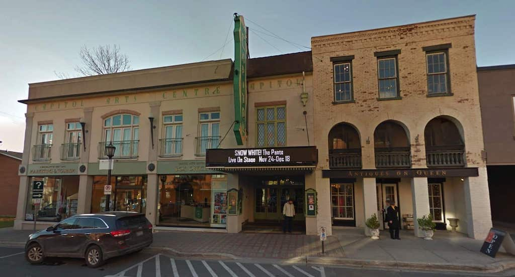 Photo from Google Street View of the Capitol Theatre