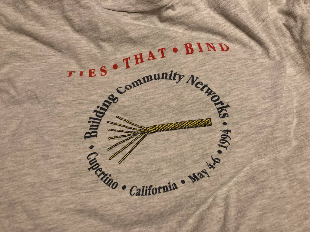 Detail from Ties that Bind T-Shirt