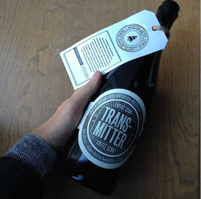 Photo by Tristan Gray of PEI Brewing Company coffee stout