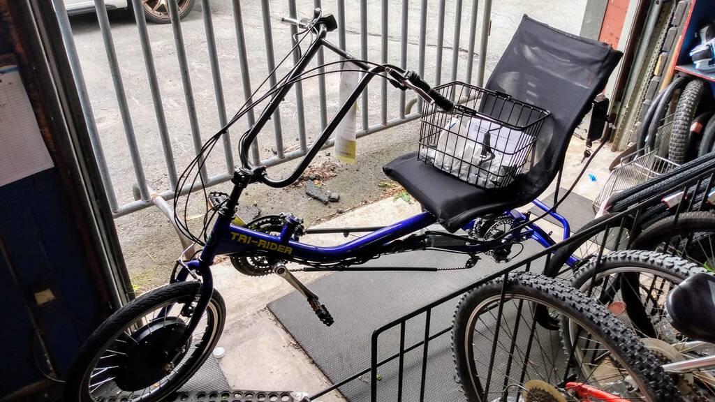 Tri-Rider bike at Sportwheels