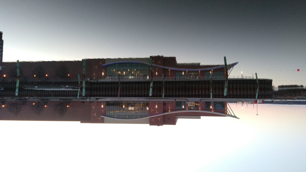 PEI Convention Centre Upside Down