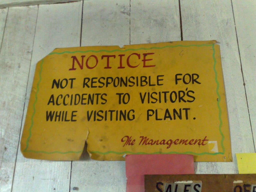 Sign at MacAusland's